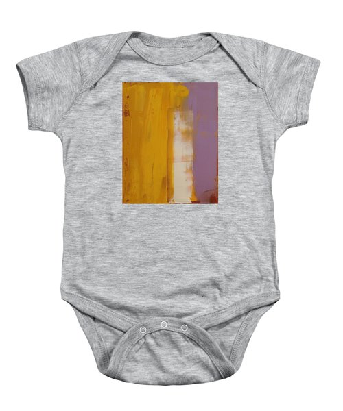The White Stripe Baby Onesie