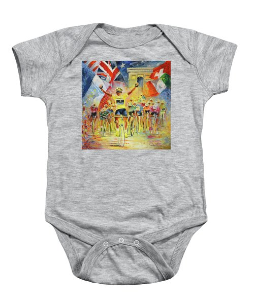 The Winner Of The Tour De France Baby Onesie