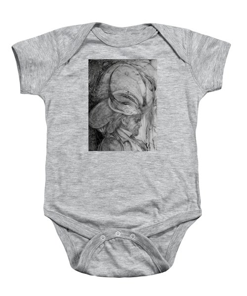 The Wizard Of Earth-sea Baby Onesie