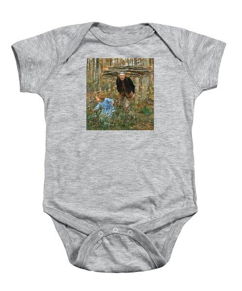 The Wood Gatherer Baby Onesie
