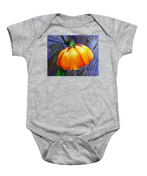 The Yellow Flower Baby Onesie