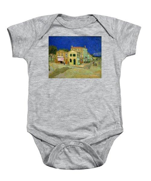 The Yellow House Baby Onesie