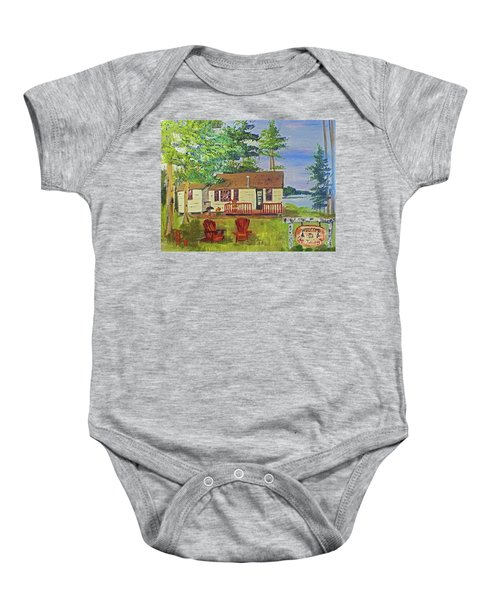The Young's Camp Baby Onesie