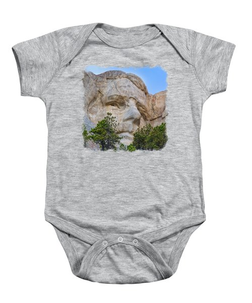 Theodore Roosevelt 3 Baby Onesie by John M Bailey