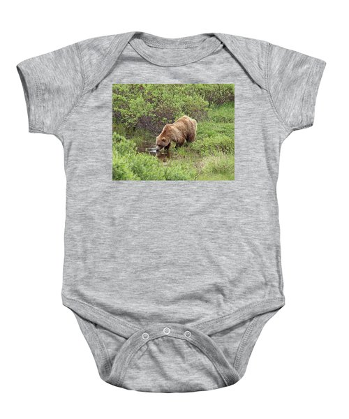 Thirsty Grizzly Baby Onesie