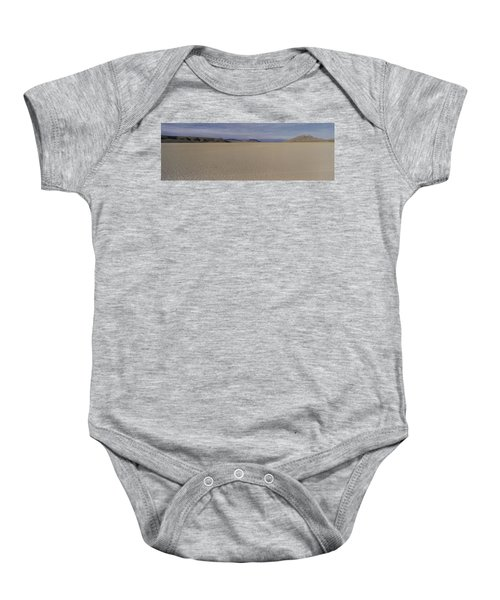 This Is A Dry Lake Pattern Baby Onesie by Panoramic Images