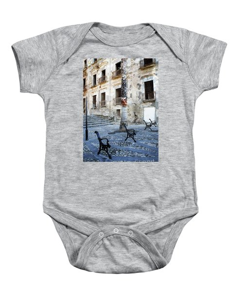This Is Not A Bench Baby Onesie