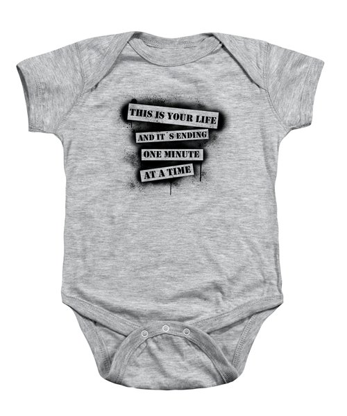 This Is Your Life - Fight Club Baby Onesie