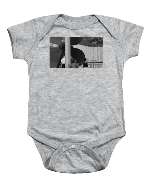 Three Is A Company Baby Onesie