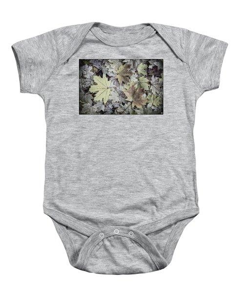 Three Leaves Baby Onesie