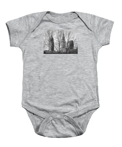 Through The Trees Baby Onesie