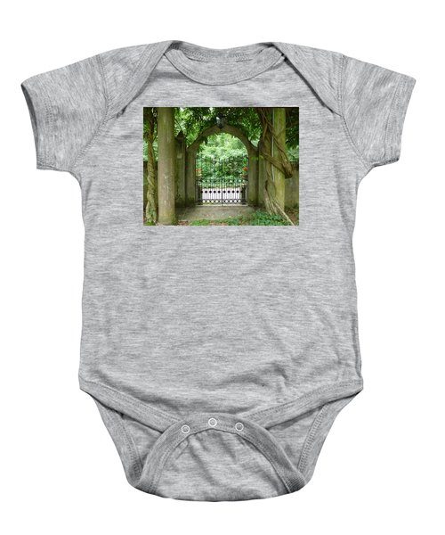 Through The Tuscan Gate Baby Onesie