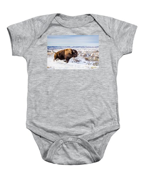 Thunder In The Snow Baby Onesie