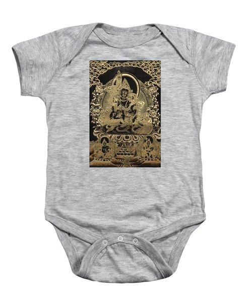 Tibetan Thangka - Vaishravana Baby Onesie by Serge Averbukh