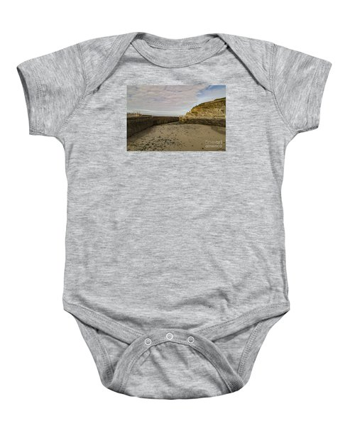 Tide Out Portreath Baby Onesie