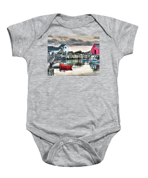 Tide's Out Baby Onesie