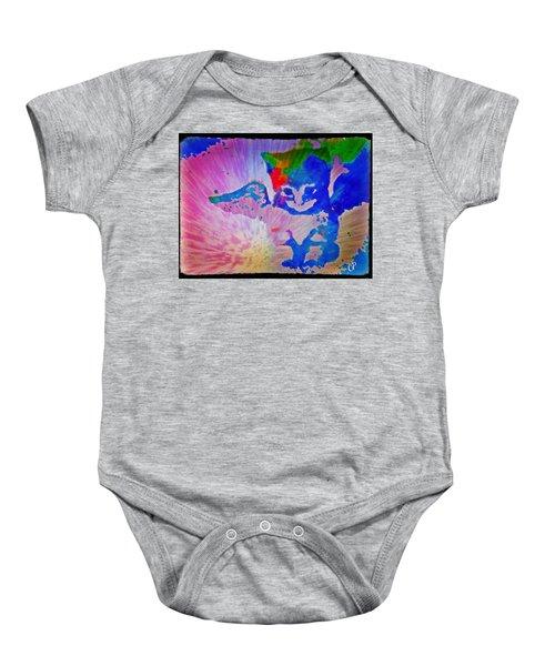 Tie Dye Tiger Baby Onesie