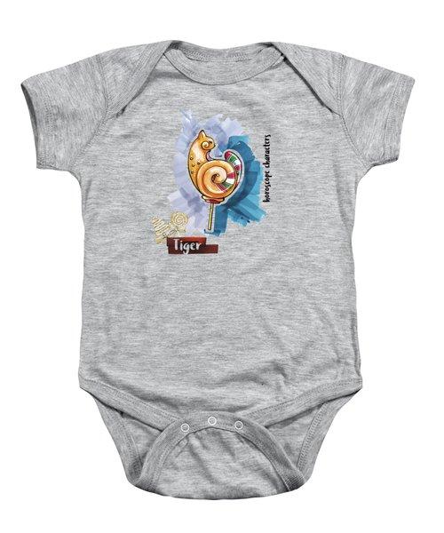 Tiger Horoscope Baby Onesie