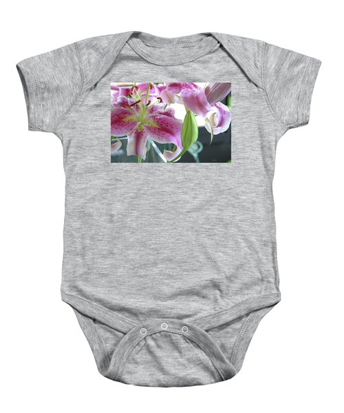 Tiger Lilies Baby Onesie