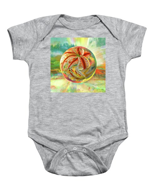 Tiger Lily Dream Baby Onesie