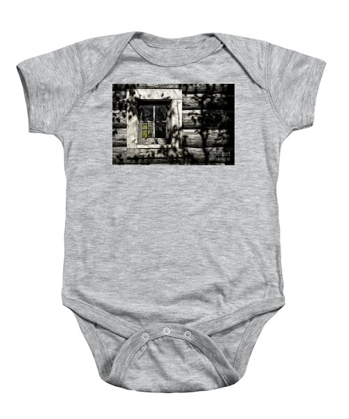 Timber Hand-crafted Baby Onesie