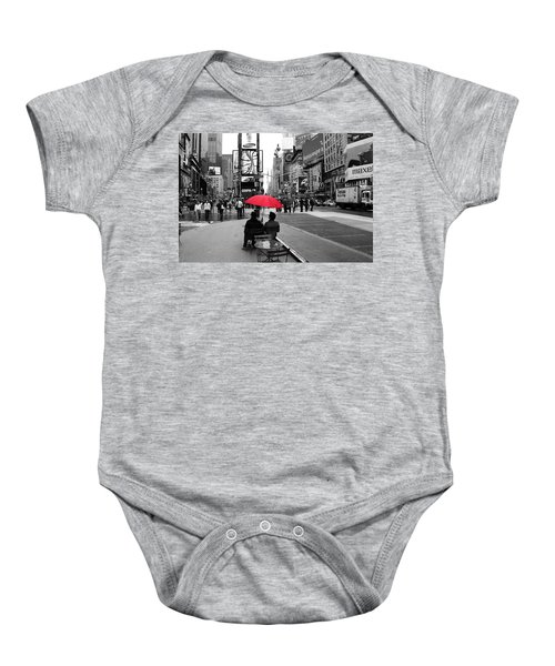 Times Square 5 Baby Onesie