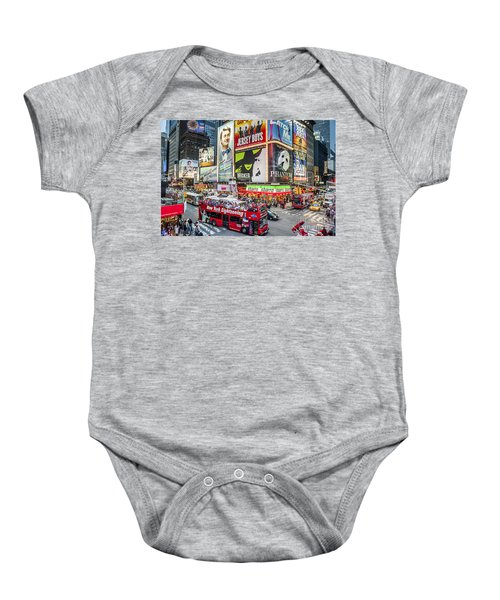 Times Square II Baby Onesie
