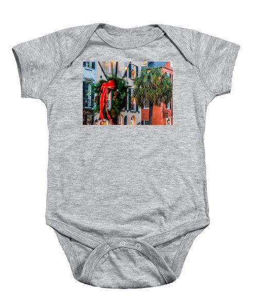 Tis The Season - Charleston Sc Baby Onesie