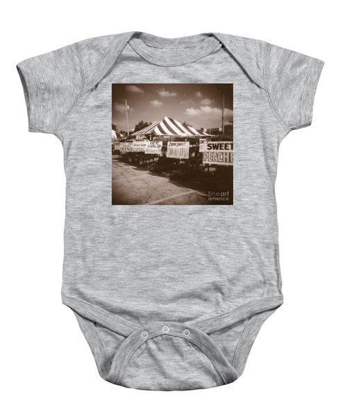 To Market  To Market Baby Onesie