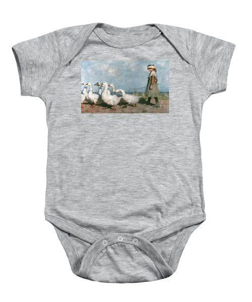 To Pastures New Baby Onesie