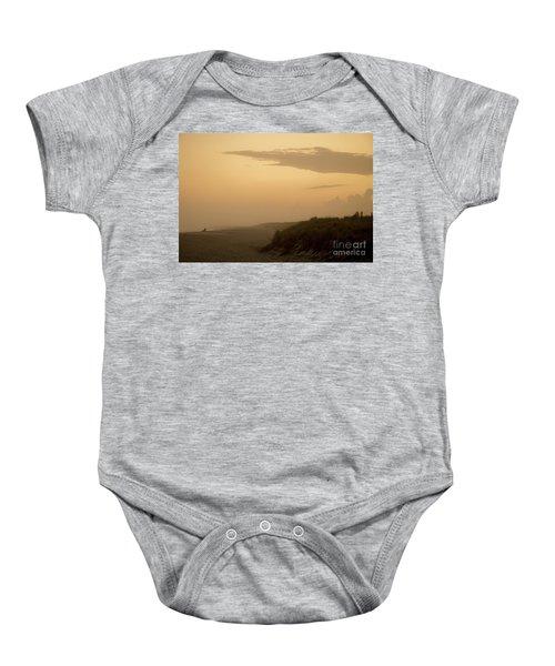 Tobay Beach Long Island Baby Onesie