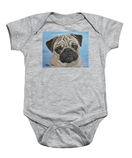 Toby The Pug Baby Onesie