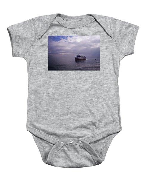 Tour Boat San Francisco Bay Baby Onesie