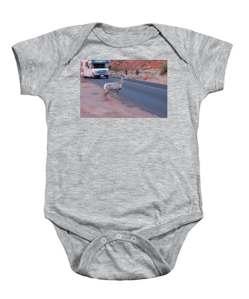 Tourists Intrusion In Nature Baby Onesie