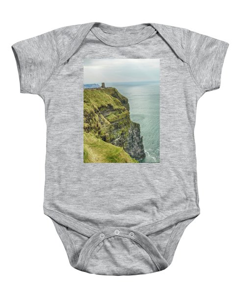 Tower At The Cliffs Of Moher Baby Onesie