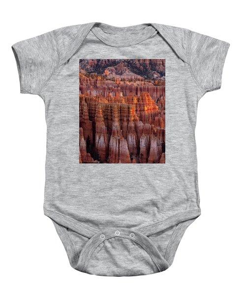 Towers Of Bryce Baby Onesie