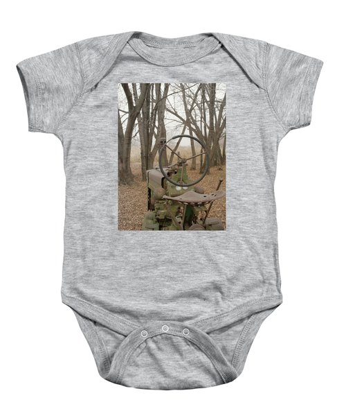 Tractor Morning Baby Onesie