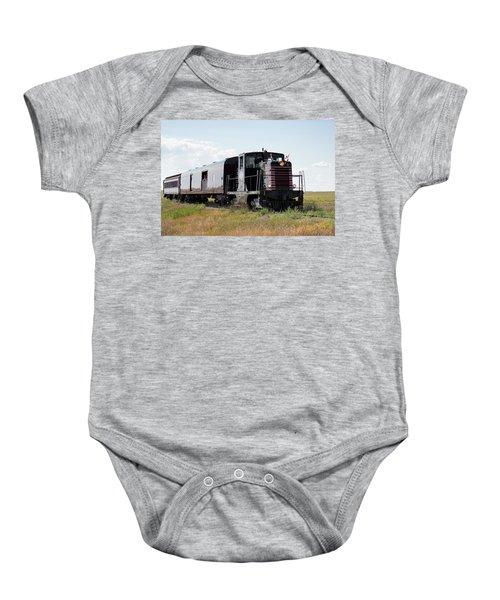Train Tour Baby Onesie