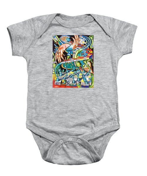 Transmutation Of Time, Reflex, And Observation Baby Onesie