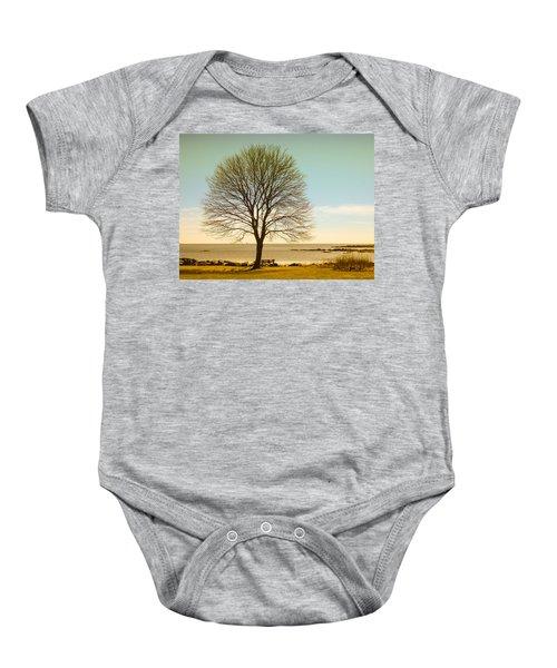 Tree At New Castle Common Baby Onesie