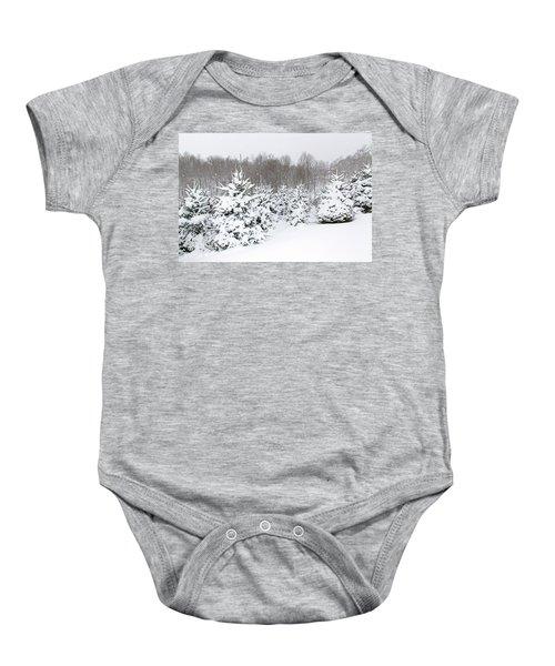Fraser Snow Baby Onesie