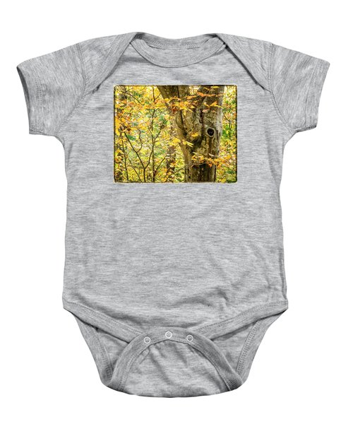 Tree Hollow Baby Onesie