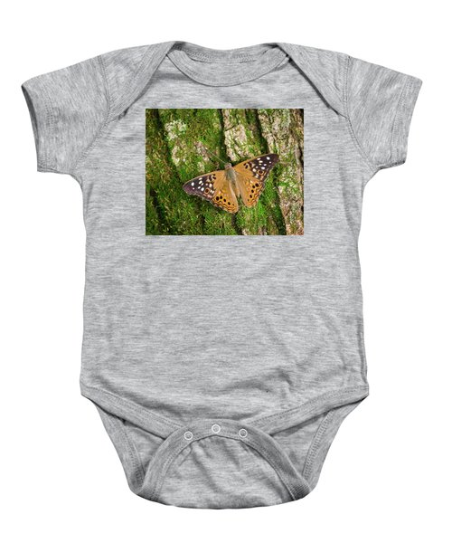 Baby Onesie featuring the photograph Tree Hugger by Bill Pevlor