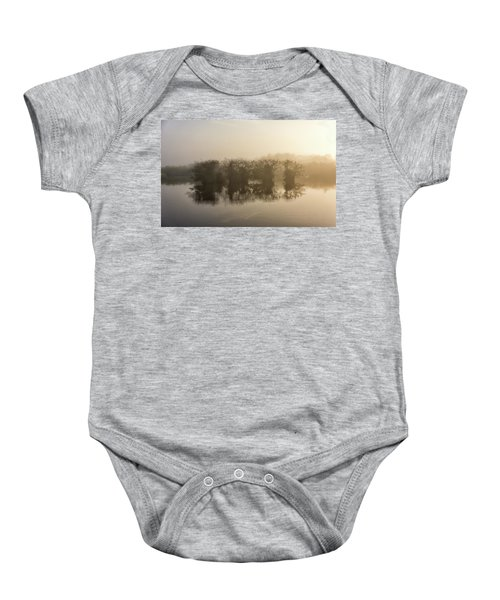 Tree Islands Baby Onesie