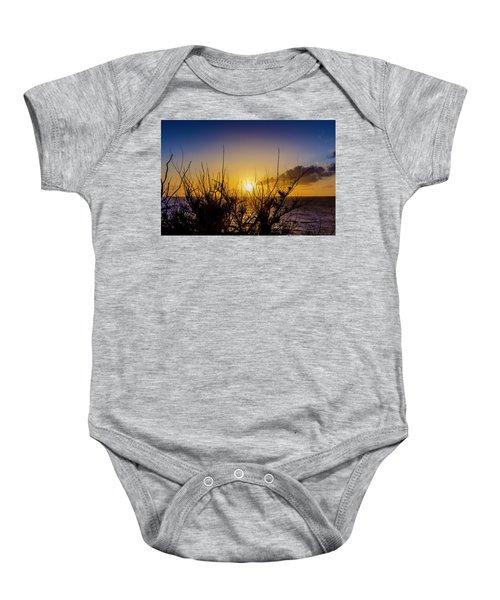 Tree Sunset Baby Onesie