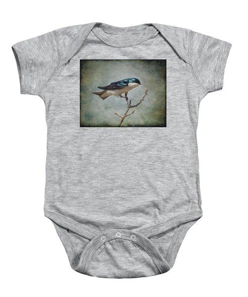 Tree Swallow Baby Onesie