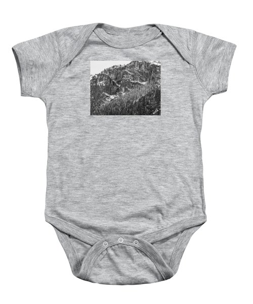 Baby Onesie featuring the photograph Treefall by Lora Lee Chapman
