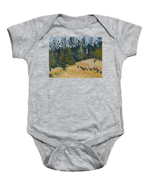 Trees Grow Baby Onesie