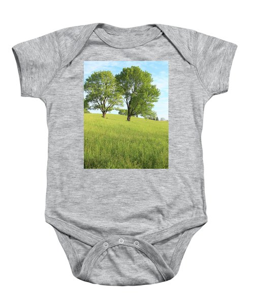 Summer Trees 2 Baby Onesie