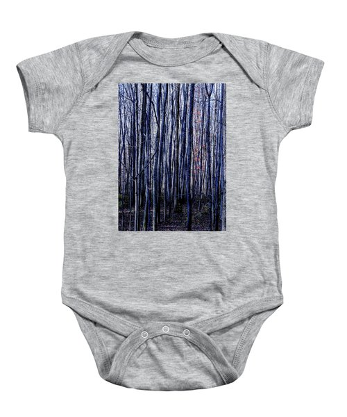 Treez Blue Baby Onesie